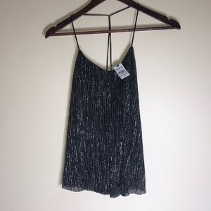Black EXPRESS sparkle top